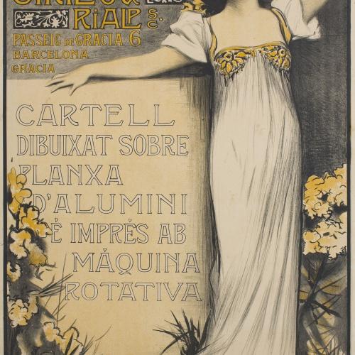 Antoni Utrillo - Litografia Utrillo & Rialp S. C - Cap a 1900
