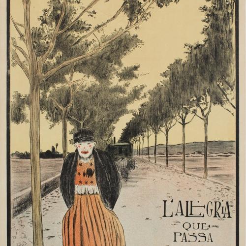 Santiago Rusiñol - L'alegria que passa - 1898