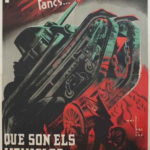 Carles Fontserè - Al front! - 1936