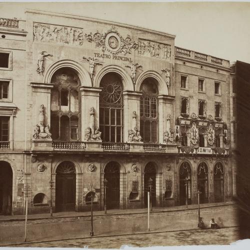 Charles Clifford - Teatro del Liceo y Casino (Barcelona) [Teatre Principal] - 1860