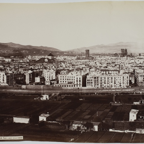 Charles Clifford - Parte norte de la ciudad (Barcelona) (Northern part of the city) - 1860