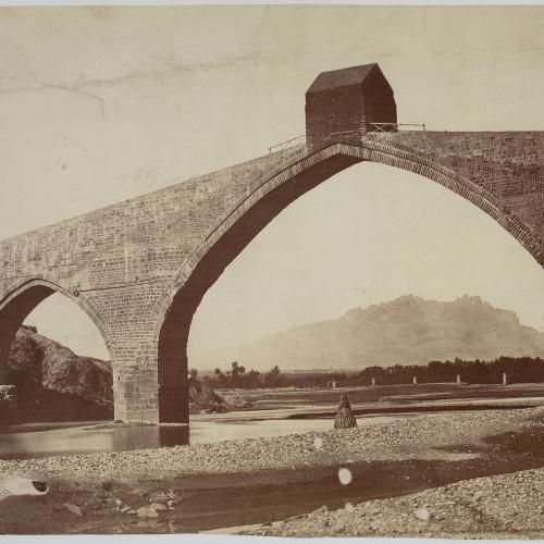 Charles Clifford - Puente del Diablo (Martorell) - 1860