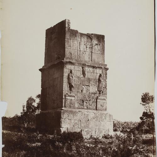 Charles Clifford - Tumba de los Escipiones (Tarragona) - 1860