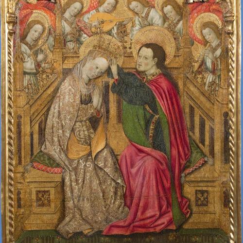 Bernat Martorell - Coronació de la Mare de Déu - Cap a 1445-1452