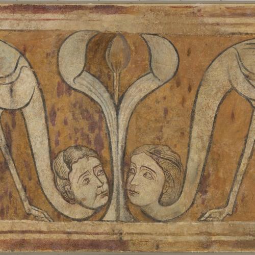 Anònim. Castella - Parella de sirenes ocell d'Arlanza - Primer quart del segle XIII