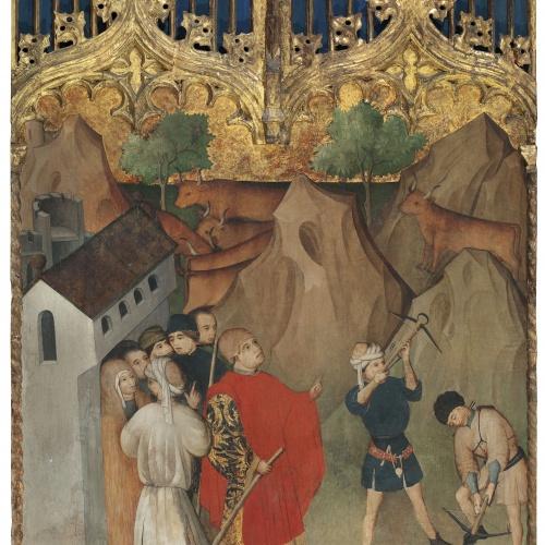 Nicolás Francés - Miracle of Mount Gargano - Circa 1440-1450