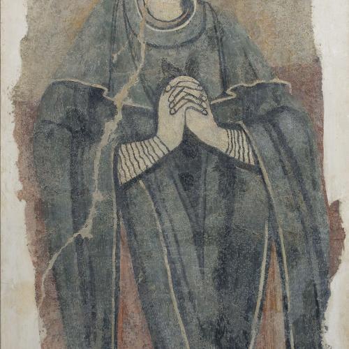 Anònim. Catalunya - Mare de Déu de la Crucifixió, d'Estaon - Mitjan segle XII