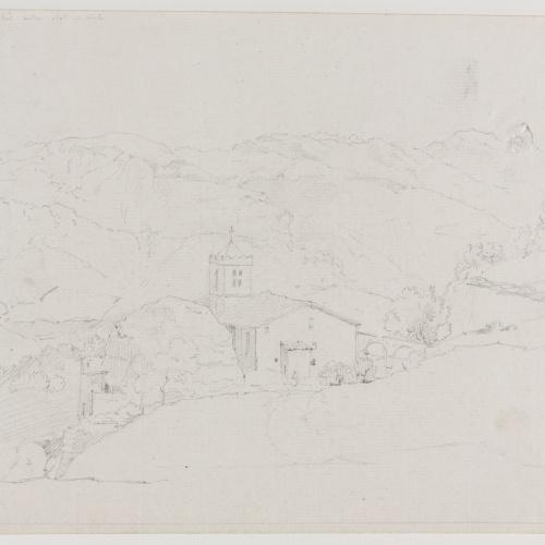 Adolphe Hedwige Alphonse Delamare - Santuari de la Salut a Sant Feliu de Pallerols - 6 d'agost 1826