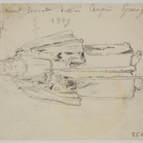 Adolphe Hedwige Alphonse Delamare - Saint Felix of Cantalice - 1827