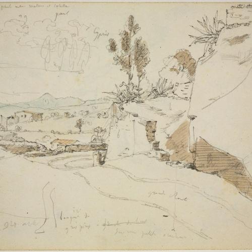 Adolphe Hedwige Alphonse Delamare - Sant Pol de Mar - November 1827