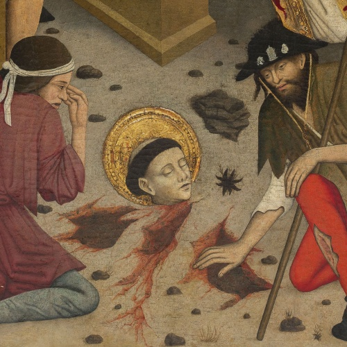 Lluís Dalmau - Decapitació de sant Baldiri - Cap a 1448 [2]