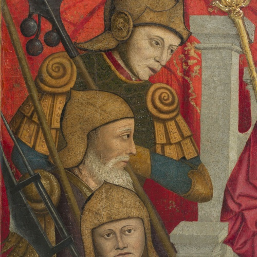 Lluís Dalmau - Decapitació de sant Baldiri - Cap a 1448 [4]