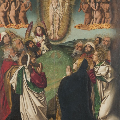 Bartolomé Bermejo - Ascension - Circa 1475