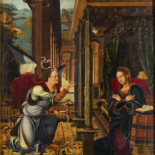 Joan de Borgonya - Anunciació - 1510-1525