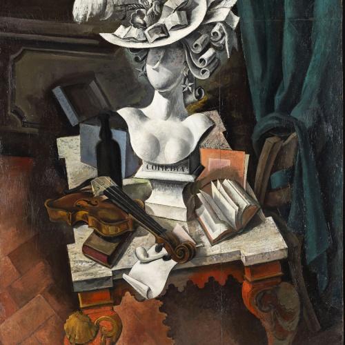 Marià Andreu Estany - La comèdia - 1928