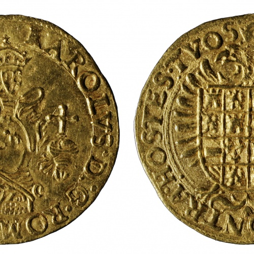 Carles I - Gold real (gouden reaal) - 1521-1556
