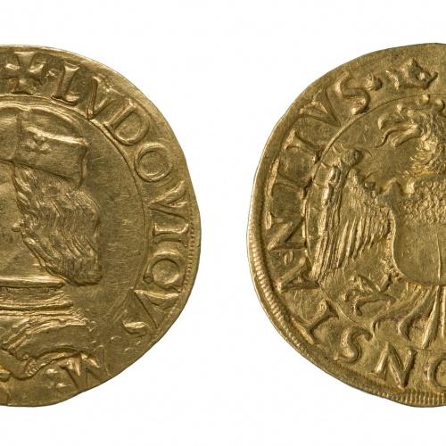 Lluís II, marquès de Saluzzo - Doble ducat - 1475-1504