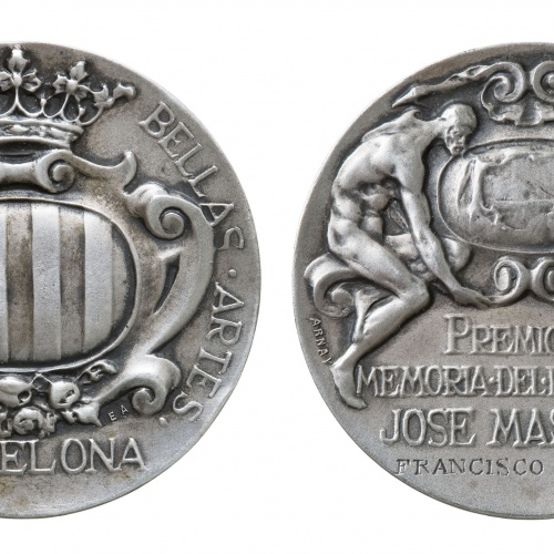 Eusebi Arnau - Premio en memoria del paisajista Josep Masriera - 1913