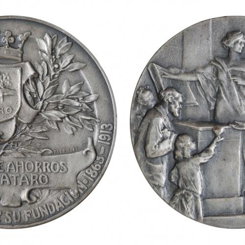 Antoni Parera - Cinquantè aniversari de la Caixa d'Estalvis de Mataró - 1913