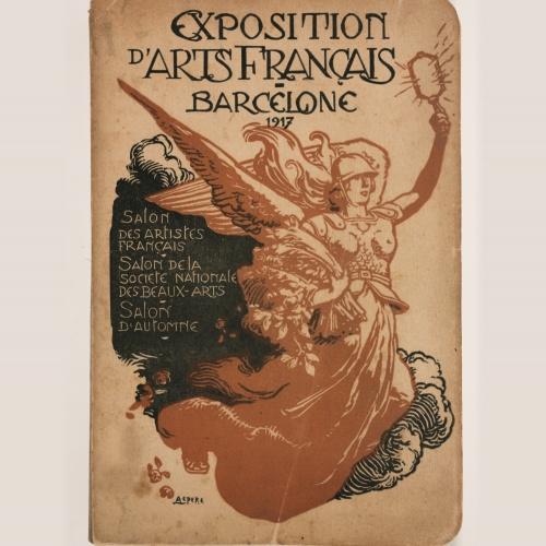 La medalla a l'Exposition d'Arts Français. El llegat a les col·leccions del museu
