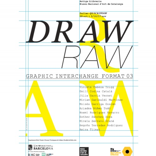 Draw_Raw_Graphic Interchange Format 03_2018. Big Draw 2018