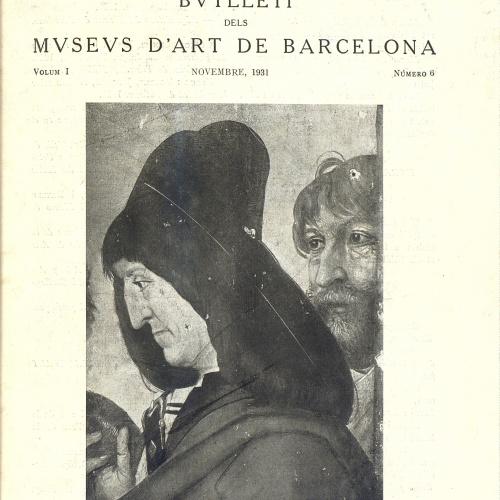 Vol. 1, núm. 6 (novembre 1931)