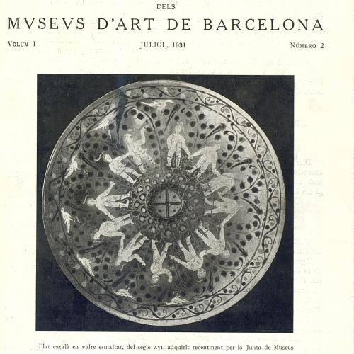 Vol. 1, núm. 2 (juliol 1931)