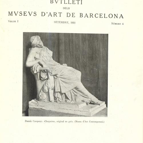 Vol. 1, núm. 4 (setembre 1931)