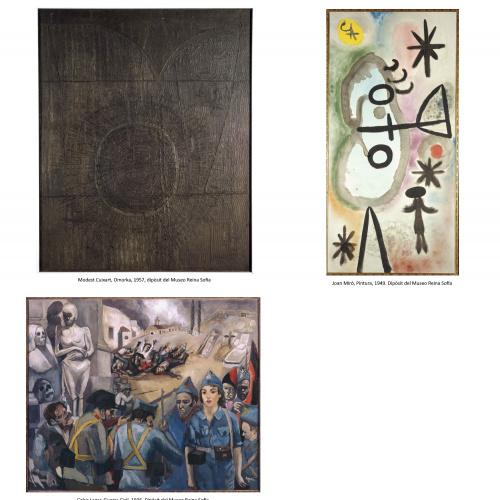 Dipòsit d'obres del Museo Reina Sofía