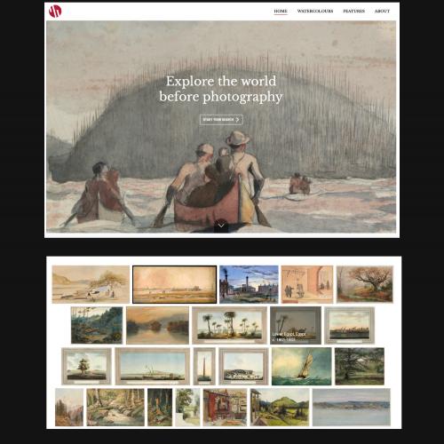 """El Museu Nacional participa al projecte """"The Watercolour World"""""""
