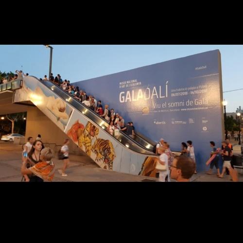 """El museu difon l'exposició """"Gala Salvador Dalí"""" a espais de Barcelona"""
