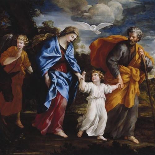 Giovanni Francesco Romanelli - El retorn d'Egipte - Entre 1635-1640