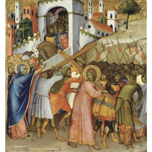 Andrea di Bartolo - Crist camí del Calvari - 1415-1420