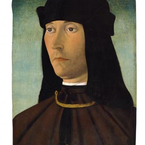 Filippo Mazzola - Retrat d'Alessandro de Richao - Cap a 1491