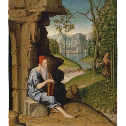 Bartolomeo Montagna - Sant Jeroni al desert - 1450-1523