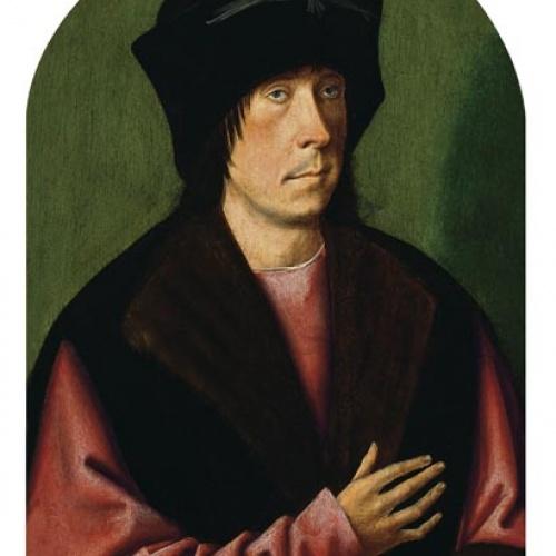 Anònim - Retrat d'un home - Cap a 1520