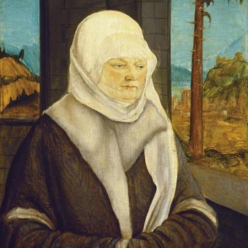 Wolf Huber - Retrat d'una dona de la família Reuss - Cap a 1524