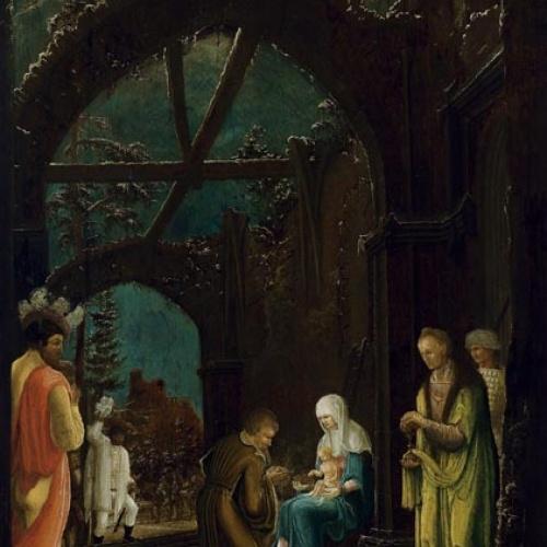 Mestre de l'Adoració Thyssen - Adoració dels Reis - Cap a 1520