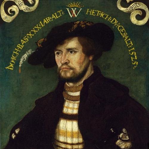 Hans Wertinger - Retrat d'un home de 30 anys - 1525