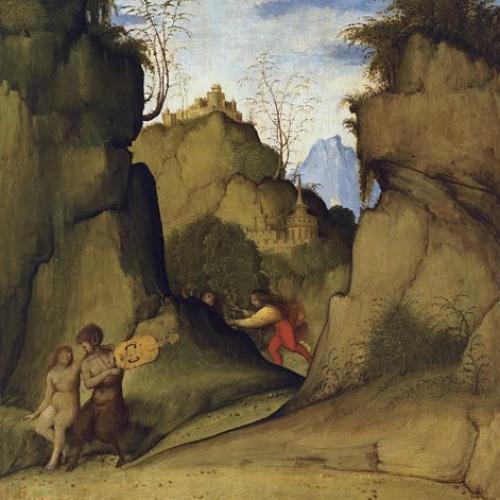Giovanni Agostino da Lodi (Pseudo-Boccaccino) - Pan i Siringa - Cap a 1515