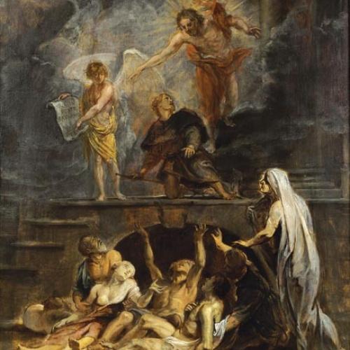 Peter Paulus Rubens - Sant Roc com a patró de la pesta - Cap a 1623