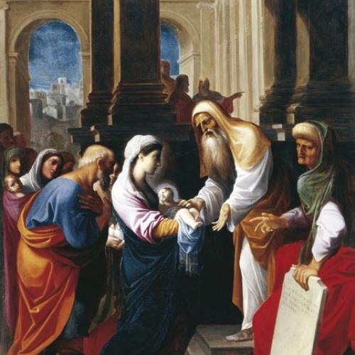 Ludovico Carracci - Presentació del Nen al Temple - Cap a 1605