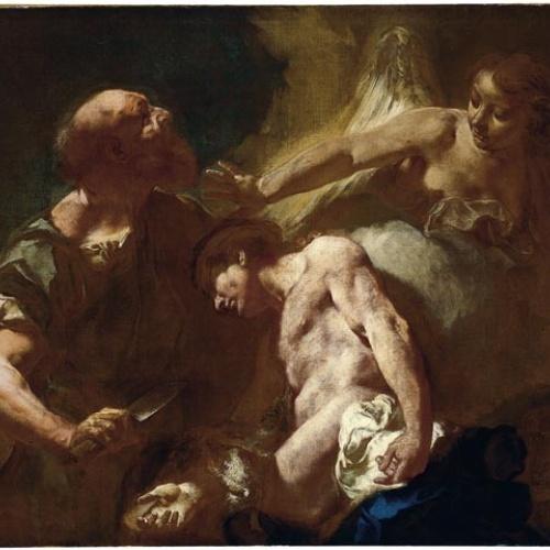 Giambattista Piazzetta - Sacrifici d'Isaac - 1712-1714