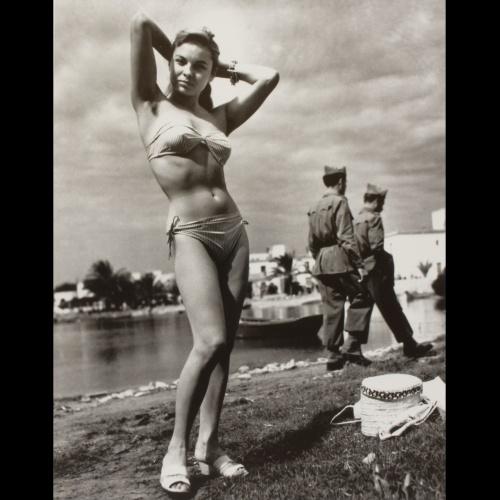 Oriol Maspons, Monique, primer bikini d'Eivissa © Oriol Maspons, VEGAP, Barcelona, 2018