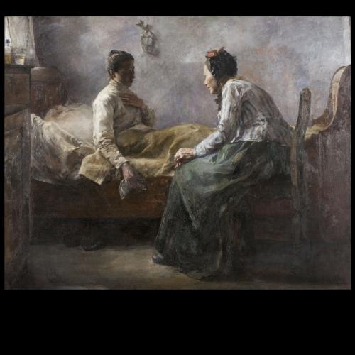 Misèria humana,  Leo van Aken, 1890   Art Modern