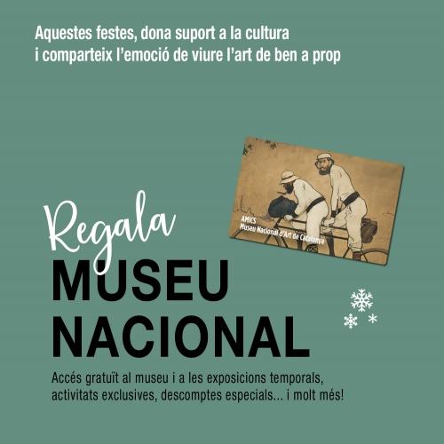 Regala Museu Nacional   Amics del MNAC