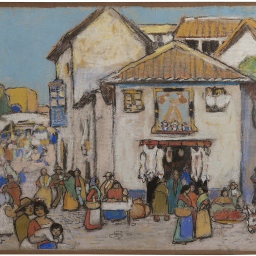Ramon_Pichot_Mercat_Colleccio_particular