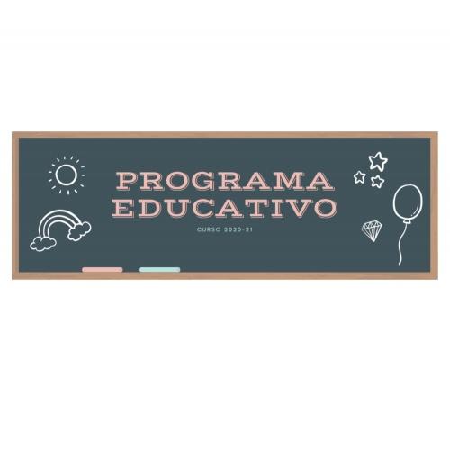 Nuevo programa educativo curso 2020-21