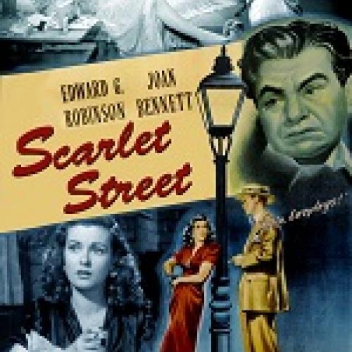 Imagen del cartel de la película Scarlet Street
