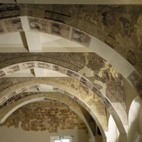 Pintures de la Sala Capitular de Sixena, entre 1196 i 1208